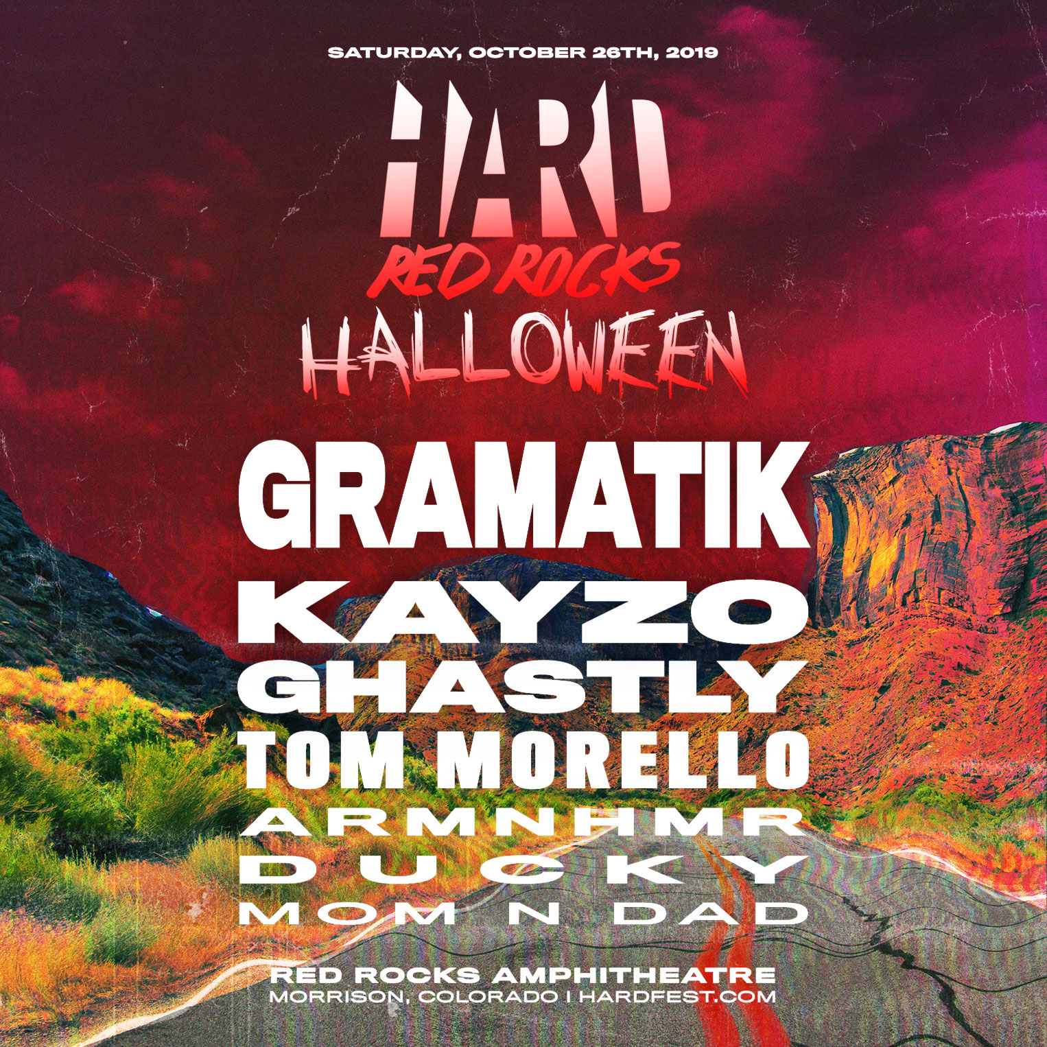 Halloween Eventi 2019.Hard Alternative Electronic Hip Hop Music Events