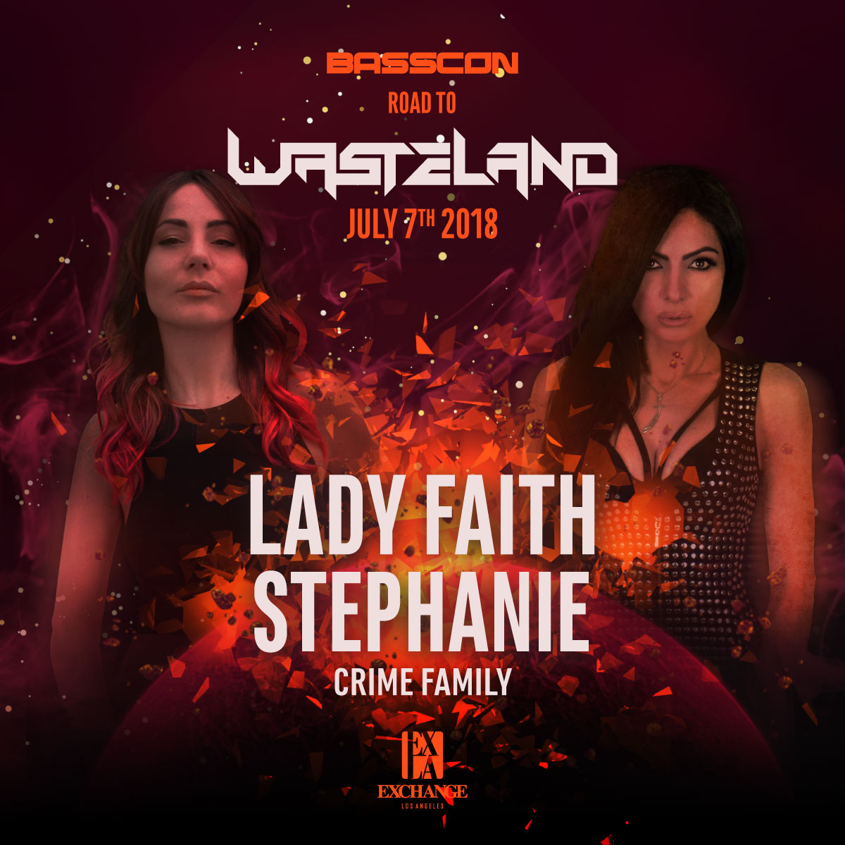 Road to Wasteland: Lady Faith & Stephanie