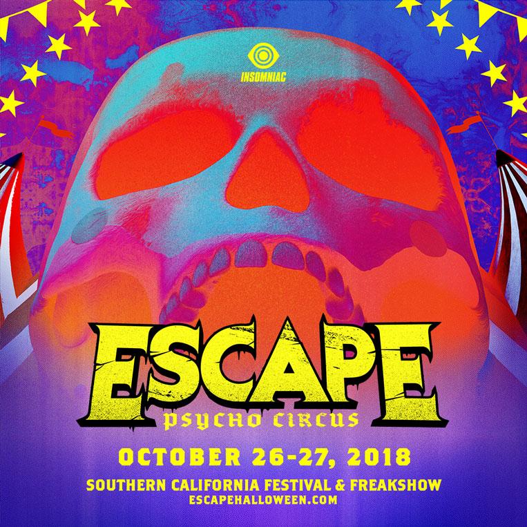 Escape: Psycho Circus 2018