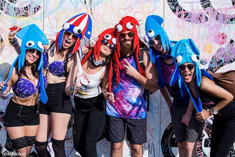 Squid Squad  sc 1 st  Insomniac & Swim Into These Costume and Totem Ideas for Beyond Wonderland SoCal 2017