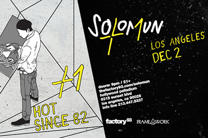 Factory 93 and Framework Present Solomun+1 at the Hollywood Palladium in Los Angeles December 2017