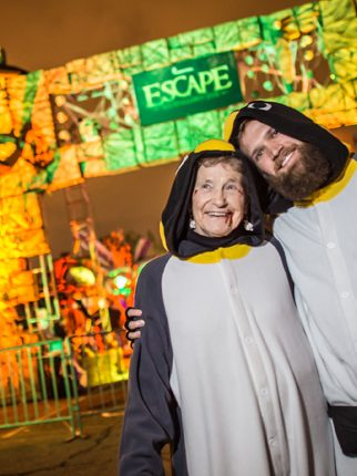 A 91-Year-Old Grandma Walks Into Escape: All Hallows' Eve…
