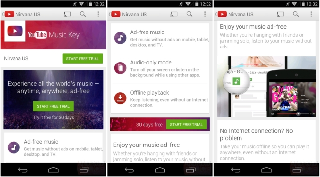 YouTube Launches New Music Key Streaming Service