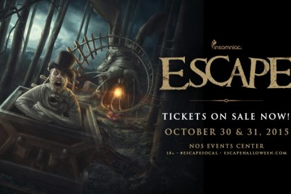 Escape 2015 Initial Artists and Single-Day Tickets Released
