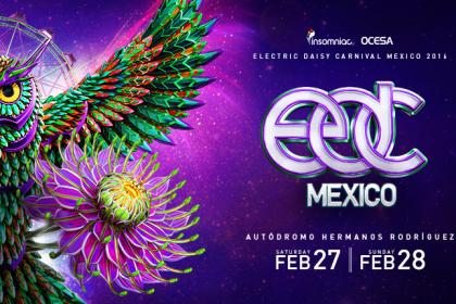 On Sale: EDC Mexico 2016