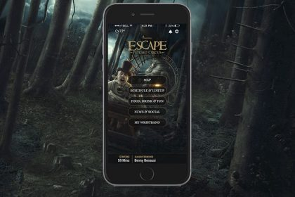 Escape: Psycho Circus App out Now