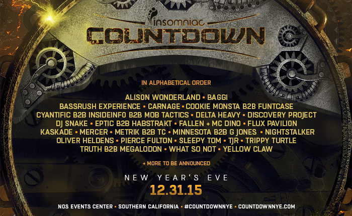 countdown new year s eve 2015 lineup released insomniac