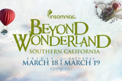 Beyond Wonderland SoCal 2016 Lineup by Day and Single-Day Tickets Available  Now