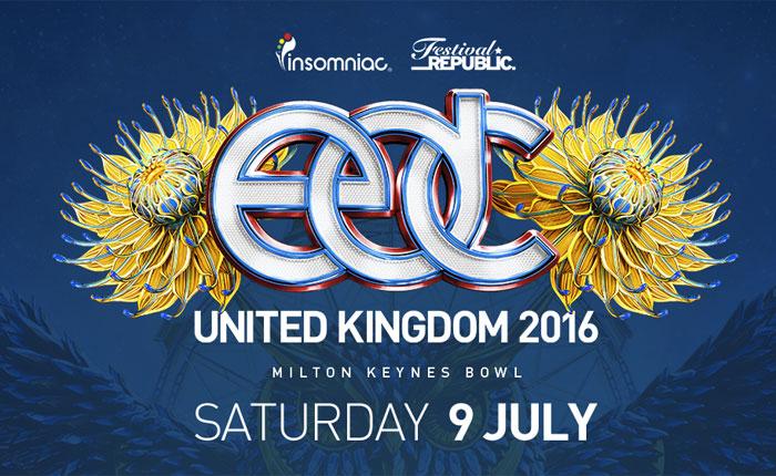 EDC UK 2016 Lineup Announced | Insomniac