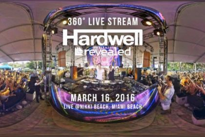 Hardwell Embraces Future With 360° Video and Virtual Reality Livestream Show