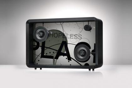 """Amazing New """"Speaker"""" Visualizes Music Lyrics While You Listen"""