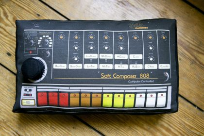 You Can Now Rest Your Head on the Soft Pillow of a Roland 808
