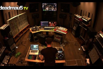 Take a Tour of deadmau5's Stunning New Studio and Enjoy a Two-Hour Techno Set