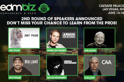 Armin van Buuren and More Announced for EDMbiz 2016 Conference & Expo