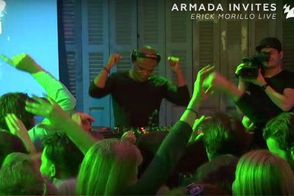 Watch an Hour of Erick Morillo Laying Down Live Grooves for 'Armada Invites'