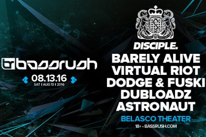 Bassrush to Host Disciple Recordings Takeover in Los Angeles August 2016