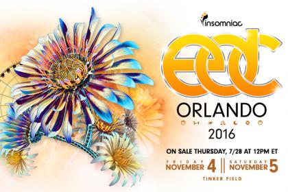 EDC Orlando Returns to Florida November 2016