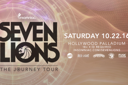 Seven Lions Brings the Journey Tour to the Hollywood Palladium October 2016