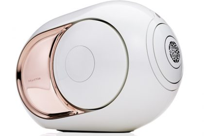 Audiophiles Go Gaga for World's Loudest Wireless Consumer Speaker, the Gold Phantom