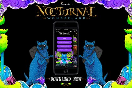 Nocturnal Wonderland 2016 Set Times and App Now Available