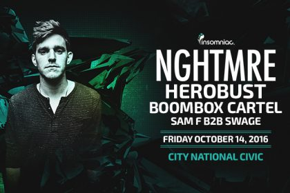 NGHTMRE Is Bringing the Bass to NorCal October 2016