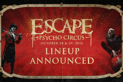 The Escape: Psycho Circus 2016 Lineup Is Here