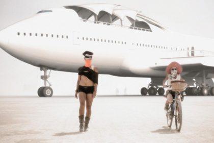 Take a Mind-Blowing 3D Tour of Burning Man's Jumbo Jet Mobile Dancefloor