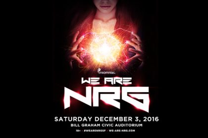 We Are NRG Coming to San Francisco December 2016