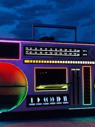 The Hip-Hop History of Insomniac's 'Boombox' Art Car