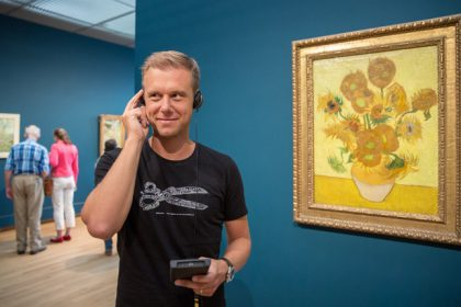 Armin Shows His Love for Vincent van Gogh With Multimedia Museum Guide