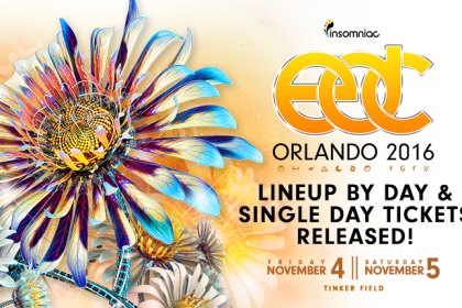 EDC Orlando 2016 Lineup by Day and Single-Day Tickets Available Now