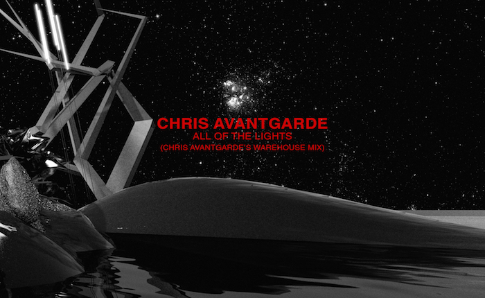 """Chris Avantgarde Slides Into the Warehouse With """"All of the Lights"""