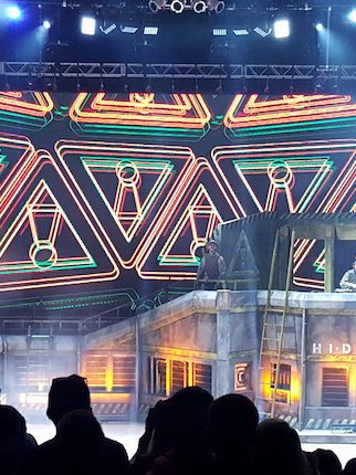 Onstage: A Close Look Into Flosstradamus' Massive Military Bunker Stage