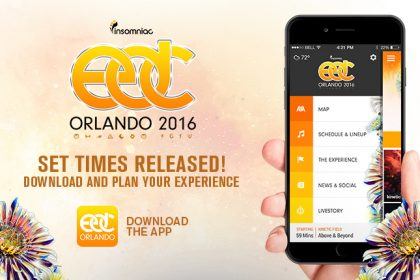 EDC Orlando 2016 Set Times and App Now Available