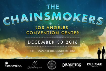 The Chainsmokers Take Over the Los Angeles Convention Center December 2016