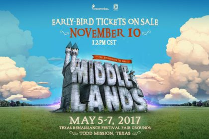 Middlelands Set to Debut May 2017 at the Texas Renaissance Festival Fair Grounds