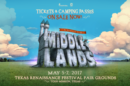 Middlelands 2017 Tickets and Camping Passes on Sale Now