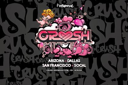 Crush Is Taking Over SoCal, San Francisco, Arizona and Dallas Valentine's 2017
