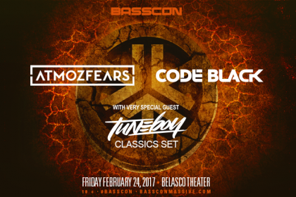 Basscon Presents Atmozfears, Code Black and Tuneboy in Los Angeles February 2017