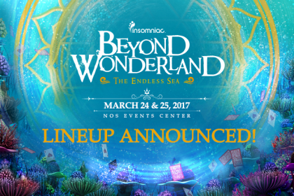 The Beyond Wonderland 2017 Lineup Is Here
