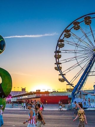 The Art of EDC Las Vegas: Electric Daisy and the One-Eyed Monster Art Car