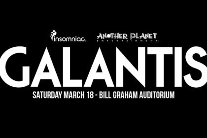 Galantis Headlining the Bill Graham Civic Auditorium in San Francisco March 2017