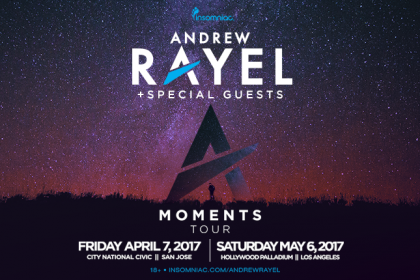 Andrew Rayel Brings the Moments Tour to NorCal and SoCal Spring 2017