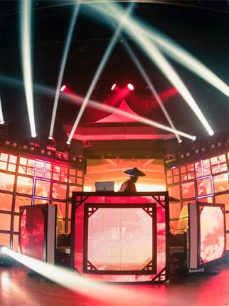 Onstage: Datsik and His Mind-Bending Shogun Stage Experience