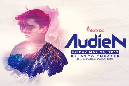 Audien Headlines the Belasco Theater in Downtown Los Angeles May 2017