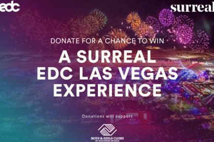 Insomniac Partners With Surreal to Launch the First-Ever EDC Week 2017 Charity Sweepstakes