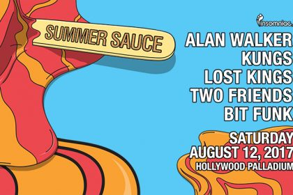 Insomniac Is Bringing the Heat With the First-Ever Summer Sauce at the Hollywood Palladium August 2017