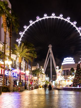 Running Game at the LINQ