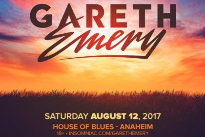 Gareth Emery Headlines House of Blues Anaheim in SoCal August 2017