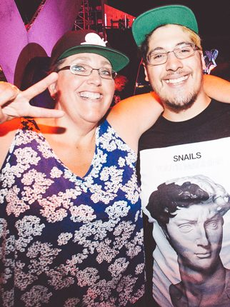 Love Snails' Music? Thank His Mom, He Says